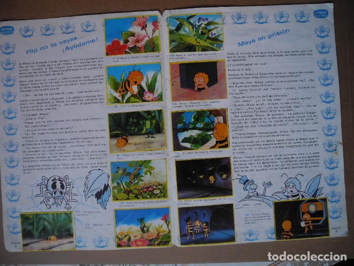 Coleccionismo Álbum: Las aventuras de la abeja Maya. Álbum completo. Danone. - Foto 3 - 90105124