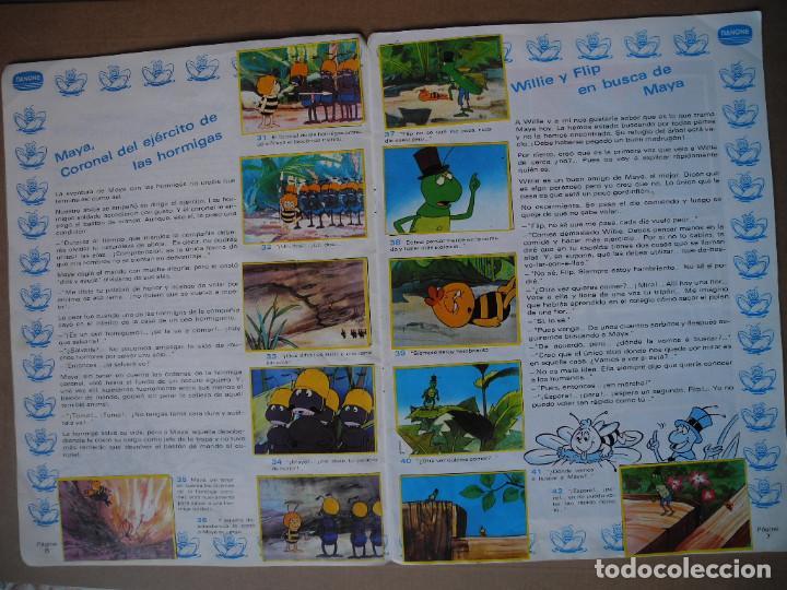 Coleccionismo Álbum: Las aventuras de la abeja Maya. Álbum completo. Danone. - Foto 5 - 90105124