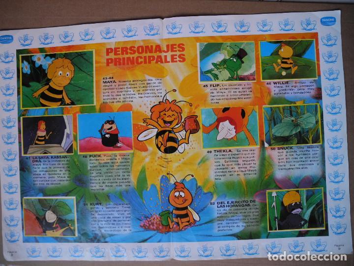 Coleccionismo Álbum: Las aventuras de la abeja Maya. Álbum completo. Danone. - Foto 6 - 90105124