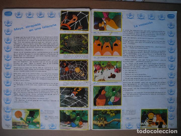 Coleccionismo Álbum: Las aventuras de la abeja Maya. Álbum completo. Danone. - Foto 9 - 90105124