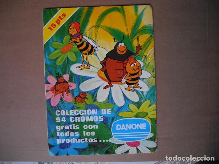 Coleccionismo Álbum: Las aventuras de la abeja Maya. Álbum completo. Danone. - Foto 11 - 90105124