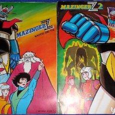 Coleccionismo Álbum: MAZINGER Z + MAZINGER Z 2 - FHER ¡COMPLETOS Y EN BUEN ESTADO!. Lote 90853900