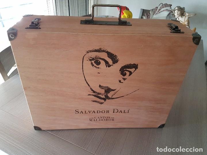 SALVADOR DALÍ - LOS CANTOS DE MALDONOR (Coleccionismo - Cromos y Álbumes - Álbumes Completos)