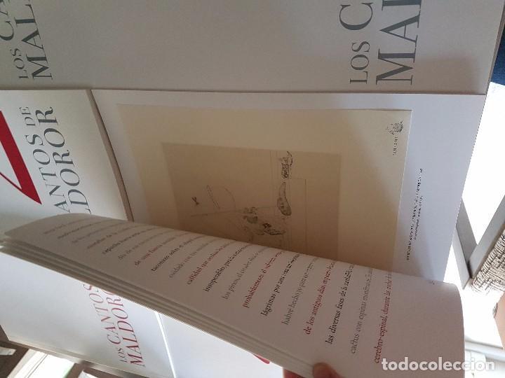 Coleccionismo Álbum: Salvador Dalí - Los Cantos de Maldonor - Foto 6 - 90957525