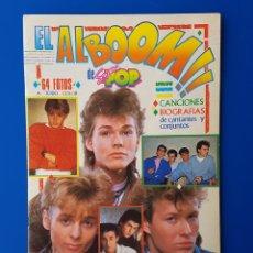 Coleccionismo Álbum: EL ALBOOM DE SUPER POP-COMPLETO-HOMBRES G,MADONNA,A-HA,WHAM,DEN HARROW,... /SUPERPOP/FOTOS / AÑOS 80. Lote 91114472