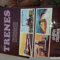 Coleccionismo Álbum: ALBUM DE CROMOS TRENES. Lote 91259075