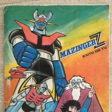Coleccionismo Álbum: ÁLBUM DE CRIMOS MAZINGER Z - COMPLETO- FHER 1978. Lote 91473702