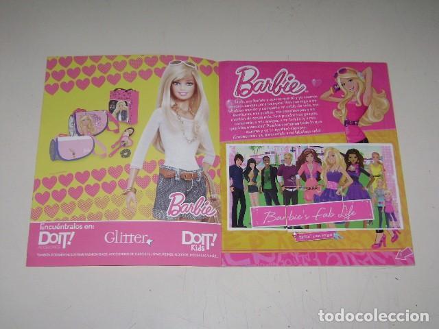 Coleccionismo Álbum: Album Barbie - Editorial Navarrete 2012 - 100%completo - Foto 2 - 91585755