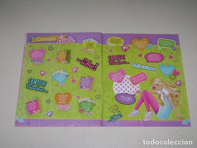 Coleccionismo Álbum: Album Barbie - Editorial Navarrete 2012 - 100%completo - Foto 6 - 91585755
