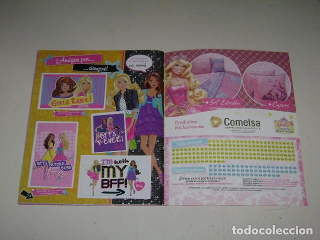 Coleccionismo Álbum: Album Barbie - Editorial Navarrete 2012 - 100%completo - Foto 9 - 91585755
