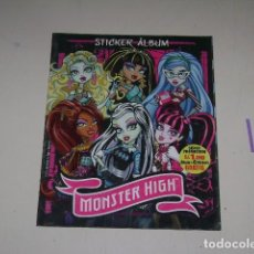 Coleccionismo Álbum: ALBUM MONSTER HIGH - EDITORIAL NAVARRETE 2011 - 100%COMPLETO. Lote 91586335