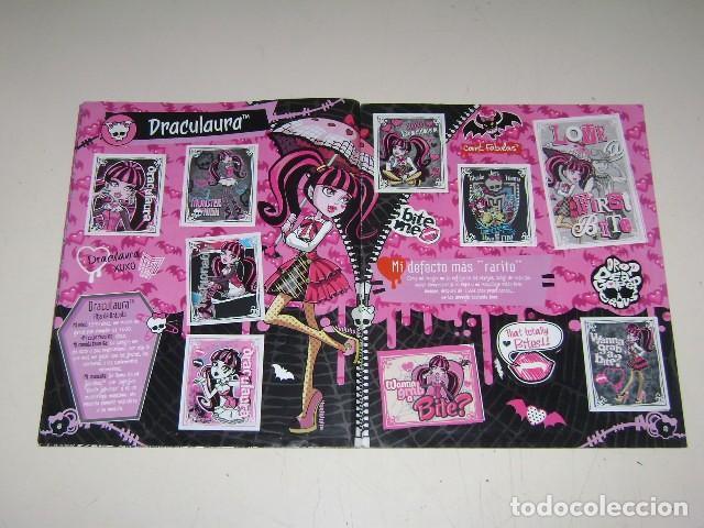 Coleccionismo Álbum: Album Monster High - Editorial Navarrete 2011 - 100%completo - Foto 4 - 91586335