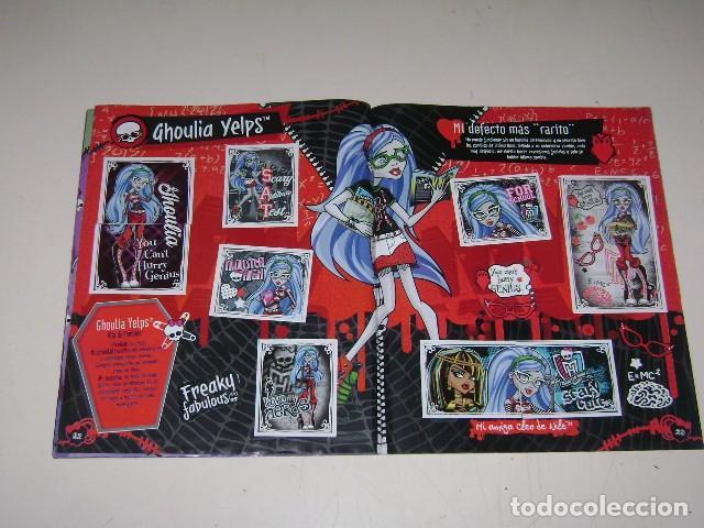 Coleccionismo Álbum: Album Monster High - Editorial Navarrete 2011 - 100%completo - Foto 6 - 91586335