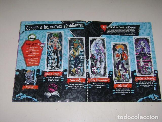 Coleccionismo Álbum: Album Monster High - Editorial Navarrete 2011 - 100%completo - Foto 7 - 91586335