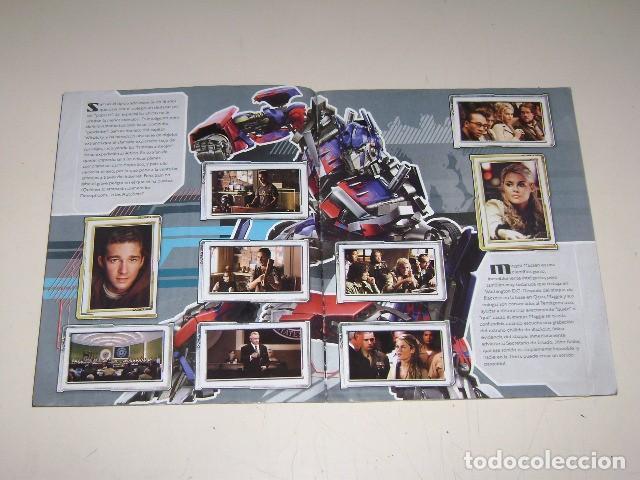 Coleccionismo Álbum: Album TransFormers - Editorial Navarrete 2007 - 100% Completo - Foto 3 - 91592450