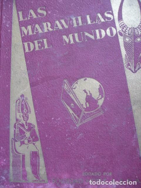 LAS MARAVILLAS DEL MUNDO ALBUM NESTLE SERIE 1 A 40 COMPLETO BUEN ESTADO (Coleccionismo - Cromos y Álbumes - Álbumes Completos)