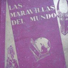 Coleccionismo Álbum: LAS MARAVILLAS DEL MUNDO ALBUM NESTLE SERIE 1 A 40 COMPLETO BUEN ESTADO. Lote 91694240
