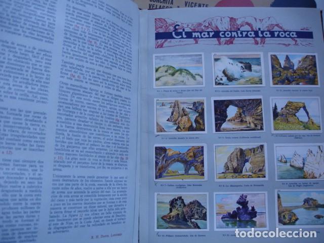 Coleccionismo Álbum: LAS MARAVILLAS DEL MUNDO ALBUM NESTLE SERIE 1 A 40 COMPLETO BUEN ESTADO - Foto 2 - 91694240