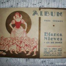 Coleccionismo Álbum: BLANCA NIEVES Y LOS 7 ENANOS ÁLBUM PARA CROMOS COMPLETO DEL AÑO 1940. Lote 91970660