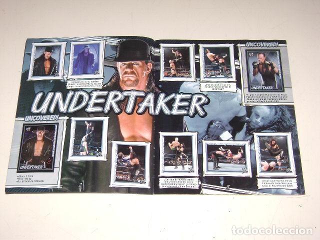 Coleccionismo Álbum: Album W Superstars Uncovered! Navarrete 2007 - 100% Completo - Foto 2 - 92122735