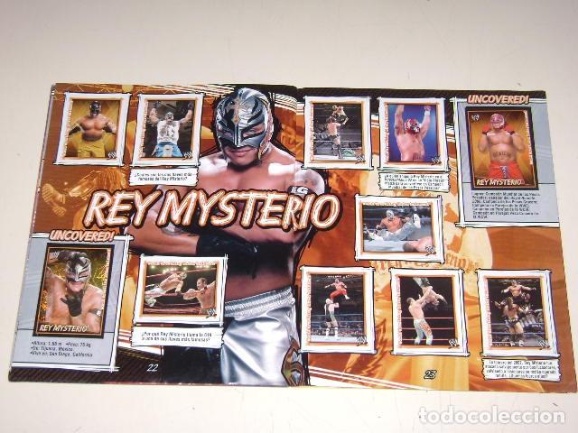 Coleccionismo Álbum: Album W Superstars Uncovered! Navarrete 2007 - 100% Completo - Foto 6 - 92122735