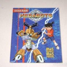 Coleccionismo Álbum: ALBUM MEDABOTS - EDITORIAL NAVARRETE 1999 - 100% COMPLETO. Lote 92165870