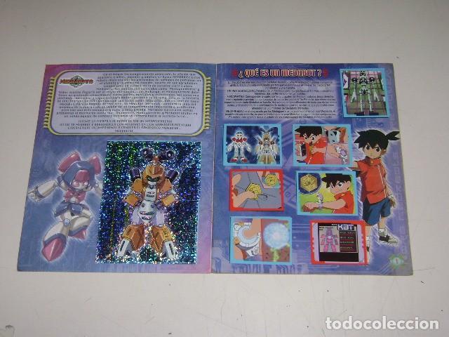 Coleccionismo Álbum: Album Medabots - Editorial Navarrete 1999 - 100% Completo - Foto 2 - 92165870