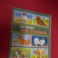Coleccionismo Álbum: ALBUM DE CROMOS COMPLETO. TUS AMIGOS LOS PERROS. SUSAETA.. Lote 92256000