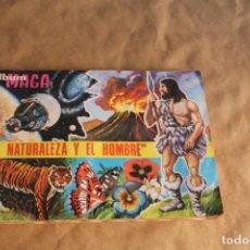 Coleccionismo Álbum: LA NATURALEZA Y EL HOMBRE, ALBUM DE CROMOS COMPLETO, EDITORIAL MAGA, AÑO 1967. Lote 92421405