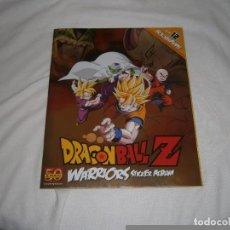 ALBUM COMPLETO dragon ball z warriors panini stickers collection holografica