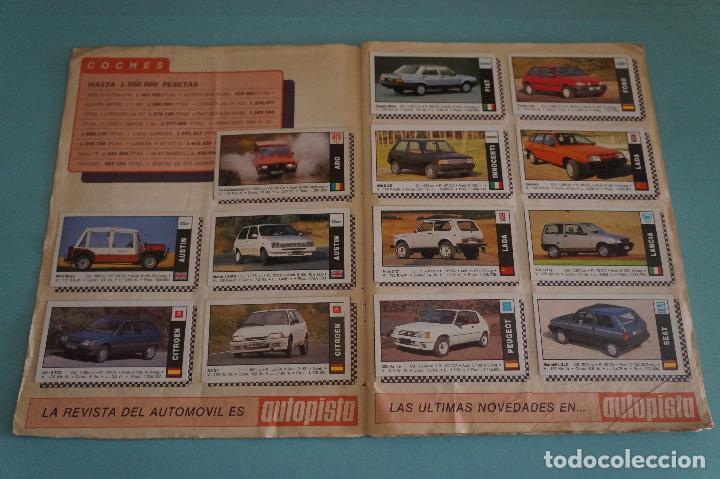 Coleccionismo Álbum: ÁLBUM COMPLETO DE COCHES AÑO 1990 DE CUSCÓ - Foto 3 - 93204825