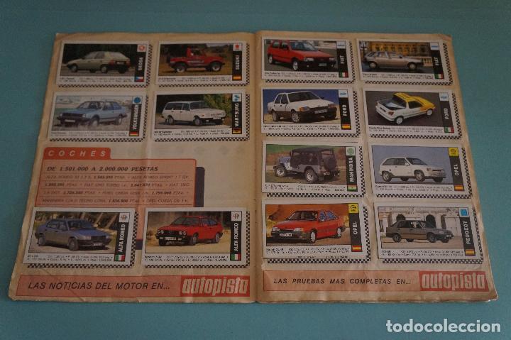 Coleccionismo Álbum: ÁLBUM COMPLETO DE COCHES AÑO 1990 DE CUSCÓ - Foto 4 - 93204825