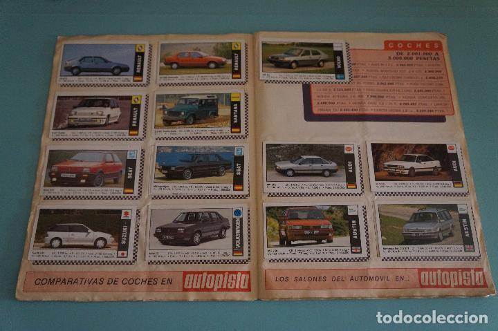 Coleccionismo Álbum: ÁLBUM COMPLETO DE COCHES AÑO 1990 DE CUSCÓ - Foto 5 - 93204825