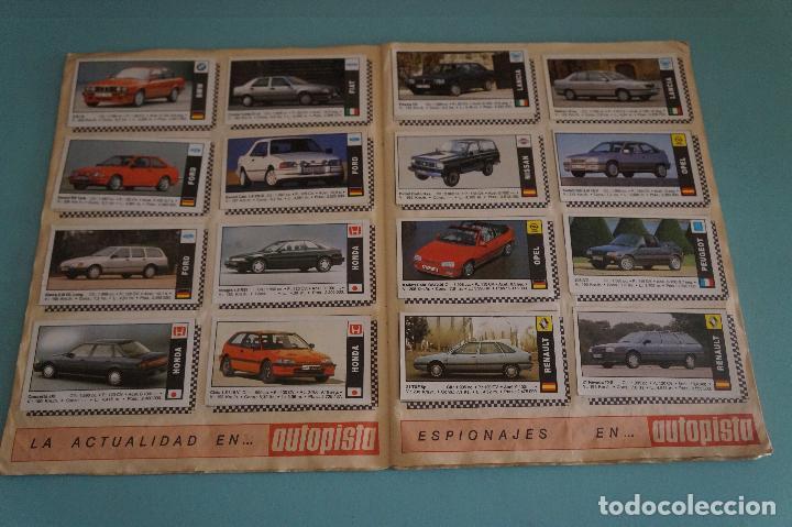 Coleccionismo Álbum: ÁLBUM COMPLETO DE COCHES AÑO 1990 DE CUSCÓ - Foto 6 - 93204825