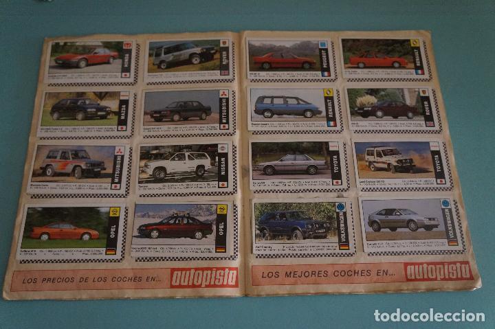 Coleccionismo Álbum: ÁLBUM COMPLETO DE COCHES AÑO 1990 DE CUSCÓ - Foto 7 - 93204825