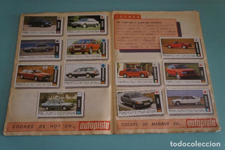 Coleccionismo Álbum: ÁLBUM COMPLETO DE COCHES AÑO 1990 DE CUSCÓ - Foto 8 - 93204825