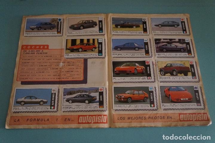 Coleccionismo Álbum: ÁLBUM COMPLETO DE COCHES AÑO 1990 DE CUSCÓ - Foto 9 - 93204825
