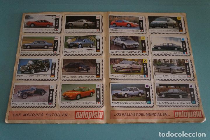 Coleccionismo Álbum: ÁLBUM COMPLETO DE COCHES AÑO 1990 DE CUSCÓ - Foto 10 - 93204825