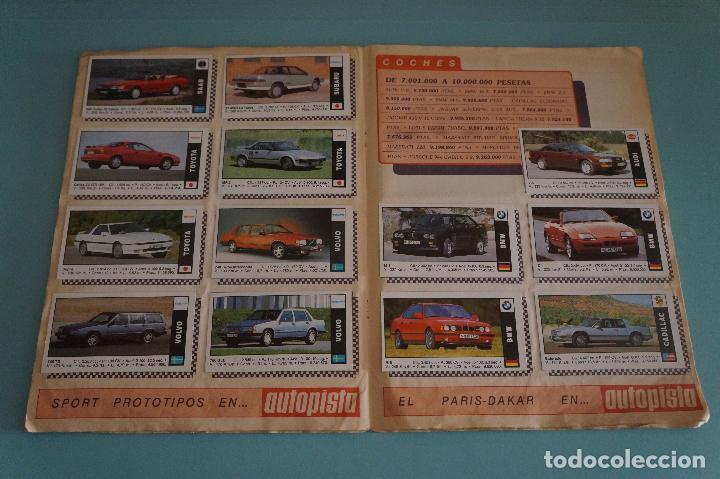 Coleccionismo Álbum: ÁLBUM COMPLETO DE COCHES AÑO 1990 DE CUSCÓ - Foto 11 - 93204825