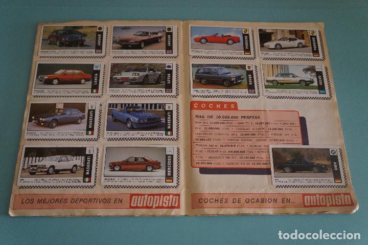 Coleccionismo Álbum: ÁLBUM COMPLETO DE COCHES AÑO 1990 DE CUSCÓ - Foto 12 - 93204825