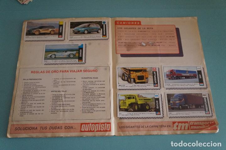 Coleccionismo Álbum: ÁLBUM COMPLETO DE COCHES AÑO 1990 DE CUSCÓ - Foto 14 - 93204825