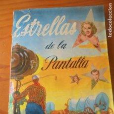 Coleccionismo Álbum: ESTRELLAS DE LA PANTALLA, COMPLETO - 2ª SERIE- RUIZ ROMERO 1955 - ALBUM CON 204 CROMOS . Lote 93682300