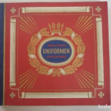 Coleccionismo Álbum: ALBUM CON 312 CROMOS COLOR DE ANTIGUOS UNIFORMES Y ESTANDARTES MILITARES DE LOS EJERCITOS ALEMANES.. Lote 123225647