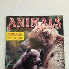 Coleccionismo Álbum: ALBUM ANIMALS OF THE WORLD PANINI ANIMALES DEL MUNDO 1991 COMPLETO. Lote 94096595