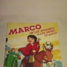 Coleccionismo Álbum: ÁLBUM DE CROMOS MARCO DE LOS APENINOS A LOS ANDES 2ª PARTE COMPLETO DEL AÑO 1977 DE DANONE. Lote 206596127