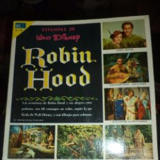 Coleccionismo Álbum: ALBUM ESTAMPAS DE WALT DISNEY ROBIN HOOD.NOVARO 1970.COMPLETO E IMPECABLE.. Lote 95374559