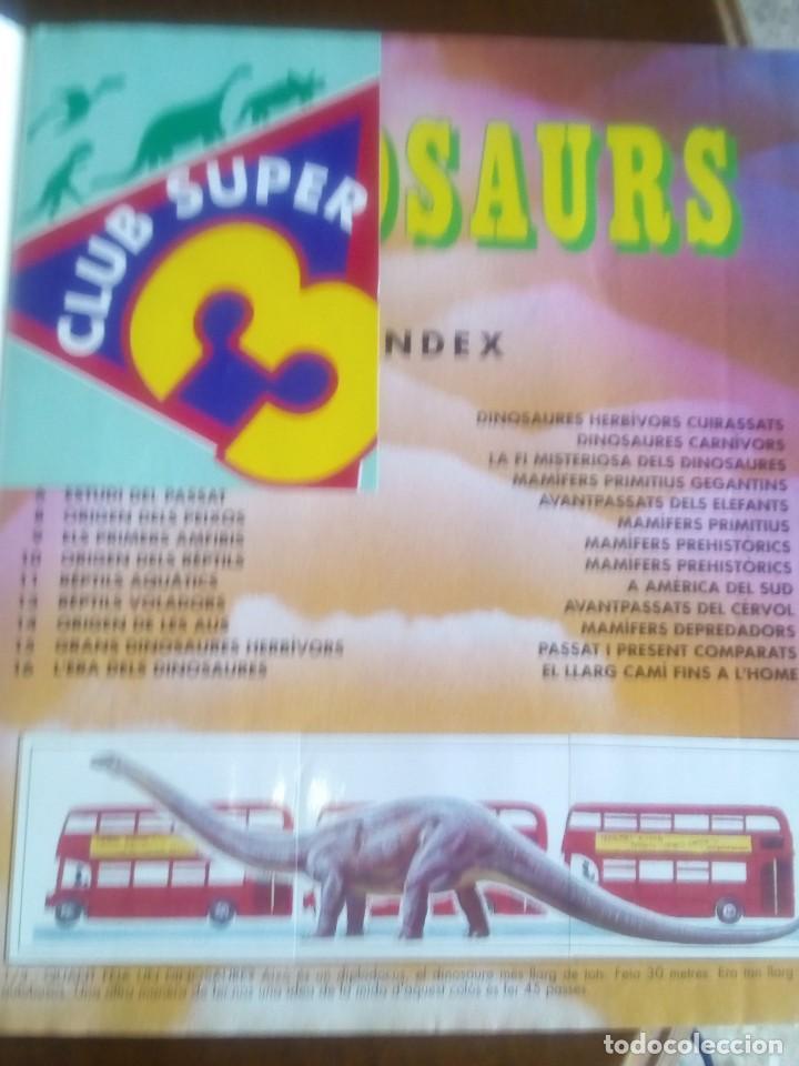 Coleccionismo Álbum: DINOSAURS. DE PANINI.COLECCION DE 180 CROMOS COMPLETO. - Foto 2 - 95461659