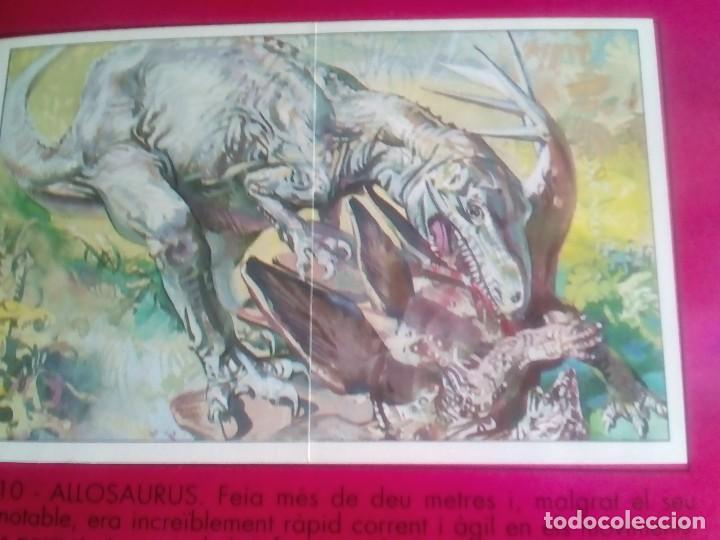 Coleccionismo Álbum: DINOSAURS. DE PANINI.COLECCION DE 180 CROMOS COMPLETO. - Foto 10 - 95461659