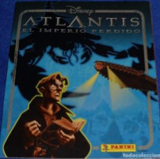 Coleccionismo Álbum: ATLANTIS - PANINI ¡COMPLETO!. Lote 95569903