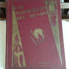Coleccionismo Álbum: ÁLBUM LAS MARAVILLAS DEL MUNDO. NESTLÉ. COMPLETO. 1932.. Lote 96740087